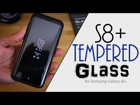 Samsung Galaxy S8+ Tempered Glass Protector Review | Olixar