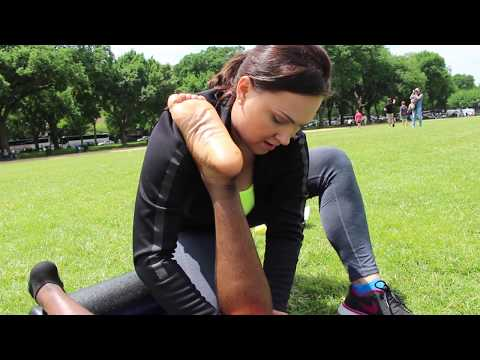 Move of the Day: Kneading out leg cramps