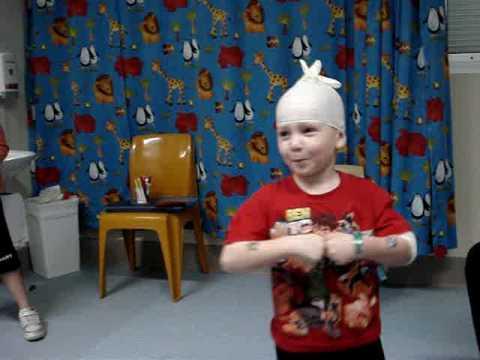 Ashtyn has Cystic Fibrosis - Hospital July 2009