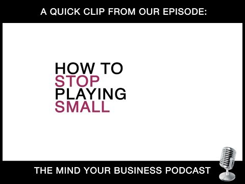 Episode 124: How to STOP Playing Small with Lewis Howes (Mind Your Business Podcast - teaser)
