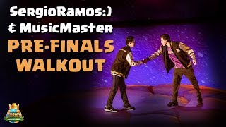 SergioRamos:) vs MusicMaster Pre-Finals Match Walkout - CCGS World Finals