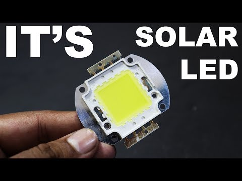 It's Not Only LED Its Solar Panel Cell- Easy Way kasnox
