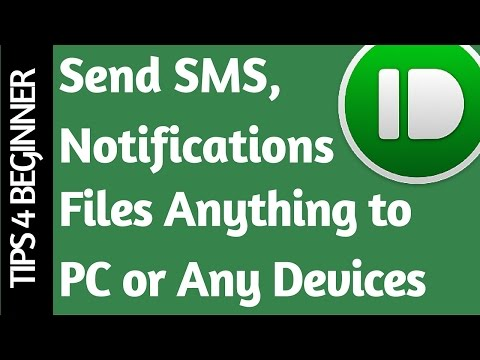 Send Files, Messages, Mobile Notifications on Desktop PC : pushbullet (Review) Part#3 TipsTricks