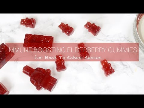 DIY | Immune System Boosting Vegan Gummy Bears