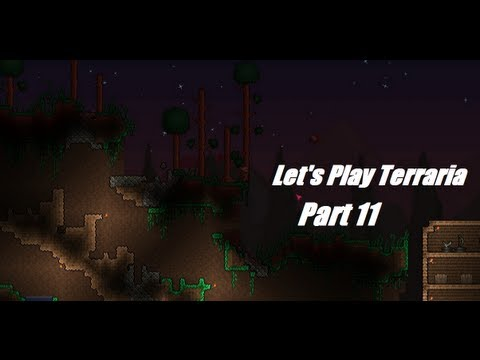 Let's Play Terraria Part 11: Gold Huts in the Jungle