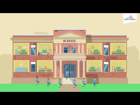 Can a school building help teachers and pupils