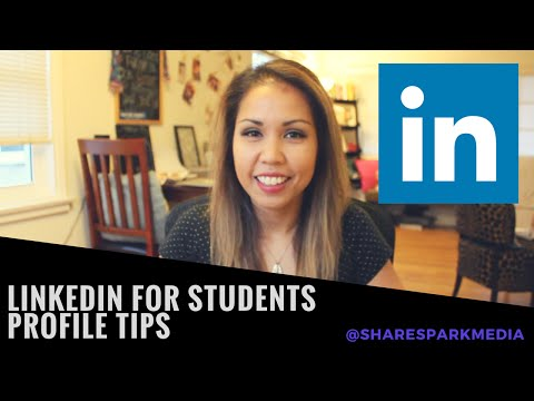 LinkedIn for Students - Tutorial for Beginners on Making a Good Profile