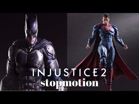 Batman vs Superman Injustice 2 stopmotion
