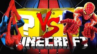 Minecraft: SPIDERMAN LUCKY BLOCK CHALLENGE   DEATH RUN CHALLENGE!!