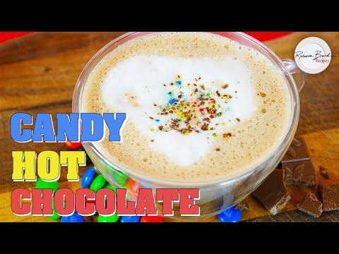 Candy Hot Chocolate Milk Recipe by Scratch