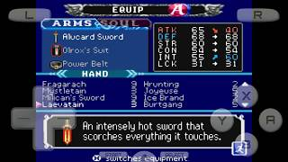 How to get Alucard Sword in Castlevania Dawn of Sorrow