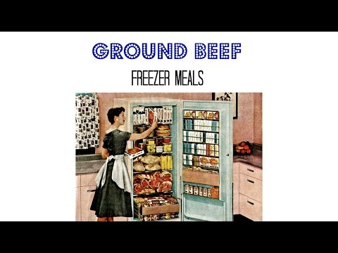 Ground Beef Freezer Meals