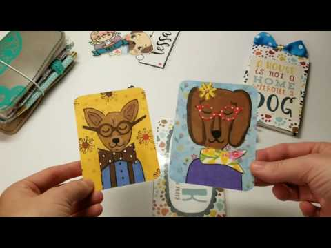 PLANNERCHAN INSPIRED BOOKMARK using Create with Rebecca kit