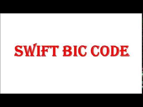 What is SWIFT BIC CODE?why it is needed for wire transfer and require for payment from google adsens