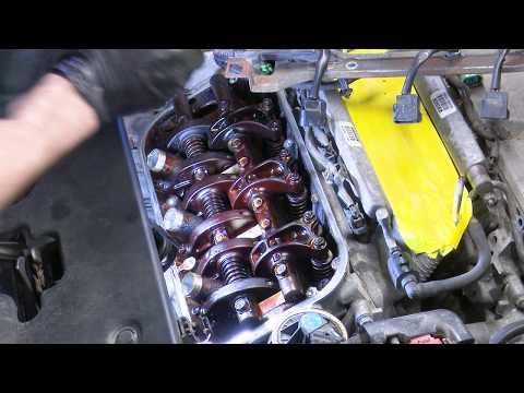2006 Honda Odyssey 3.5 Random Misfire Case Study Part 2 : Performing A Valve Adjustment
