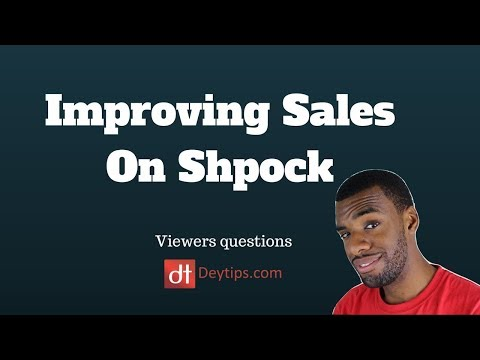 Viewers Questions: Improving Sales On Shpock