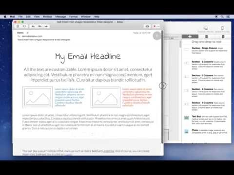 Zero coding responsive emails: How to customize and send a responsive HTML email using a template