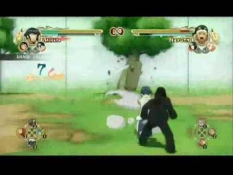 Ultimate Ninja Storm - Hinata vs Naruto (Funny)