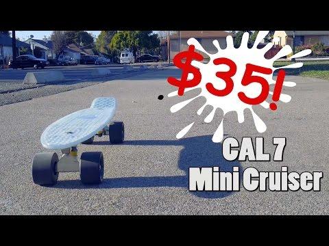Cheap Alternative Penny Board | Glow in the Dark Cal 7 mini cruiser