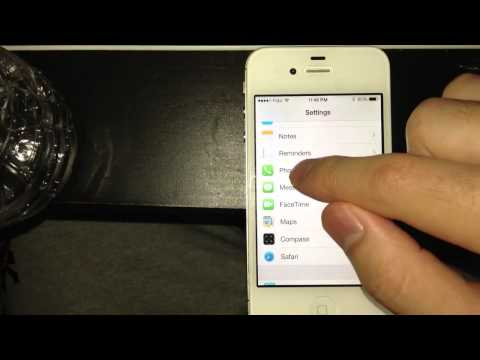 How to block someone on iPhone 4 5 5S with iOS 7