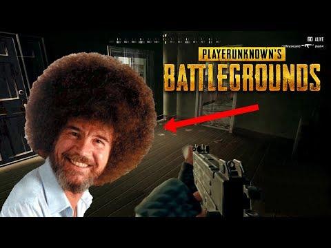 Bob Ross Plays Battlegrounds!