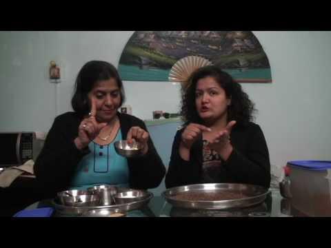 Peanut Chutney Powder & Flax Seed Chutney Powder Recipe