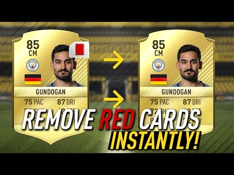 FIFA 17: HOW TO GET RID OF RED CARDS INSTANTLY! FIFA 17 RED CARD GLITCH!