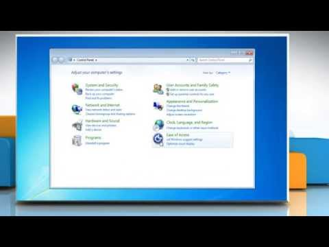 How to change  the thickness of the blinking cursor in Windows 7