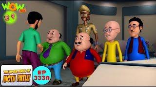 Motu Patlu Cartoons In Hindi |  Animated cartoon | Motu Patlu in Mauritius | Wow Kidz