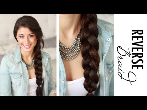 How to: Reverse Side Braid