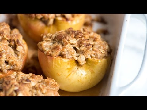 Easy Baked Cinnamon Apples Recipe - How to Make Baked Apples at Home