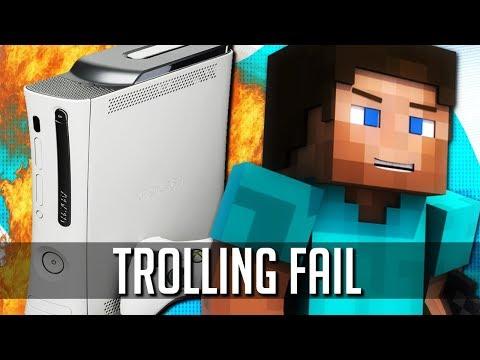Returning to Minecraft: Xbox 360 Edition (Trolling Fail)