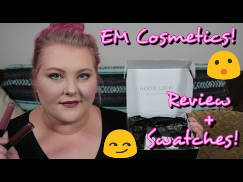 Beauty Brand Spotlight: EM Cosmetics Infinite Lip Clouds! First Impressions/Wear Test + Swatches!!