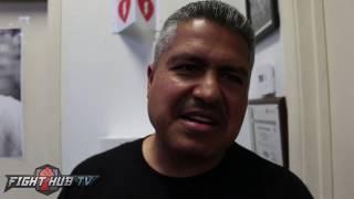"""Robert Garcia on Mayweather vs McGregor """"I"""