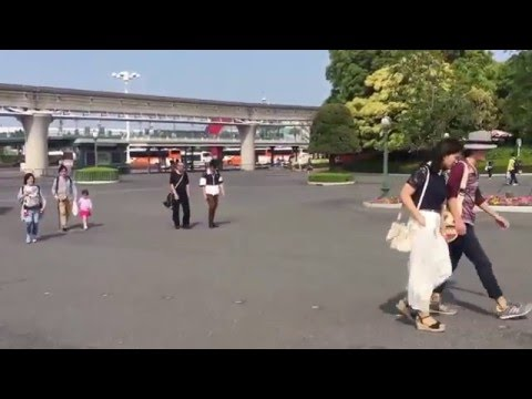 【TDL Tip】How to go to bus rotary from Tokyo disneyland
