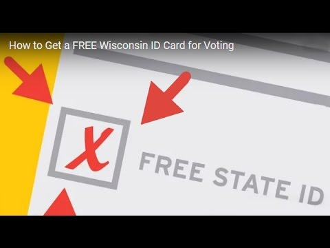 How to Get a FREE Wisconsin ID Card for Voting (2016)