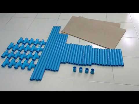 DIY PVC Closet