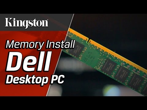 How to Install Memory in a Dell Desktop PC