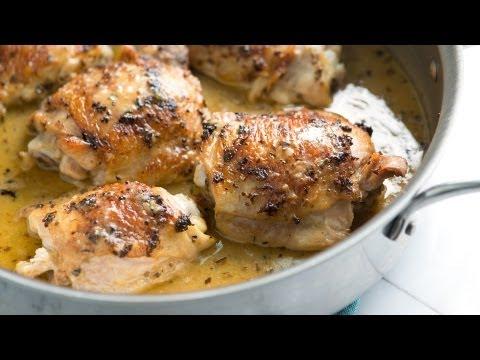 Easy Lemon Chicken Recipe with Herbs - How to Make Lemon Chicken