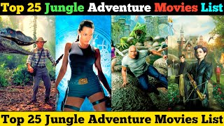 Top 25 Jungle Adventure Movies list Dubbed In Hindi by Super Filmy Boy Review