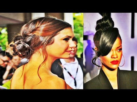 African American Bun Updo Styles for Prom Night