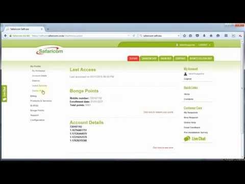 Safaricom Selfcare PUK code - How to get Safaricom PUK code