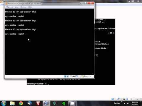 Ubuntu apt-get proxy server