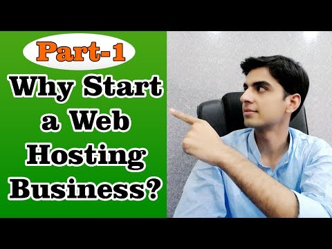 Why Start a Web Hosting Business Part-1 In Urdu & Hindi - Shoaib Manzoor