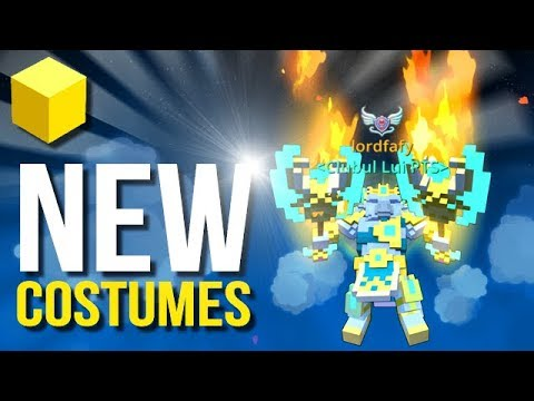 Trove - NEW Costumes in Geode Expansion!