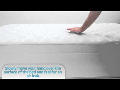 AeroBed® - How to find a leak in your airbed