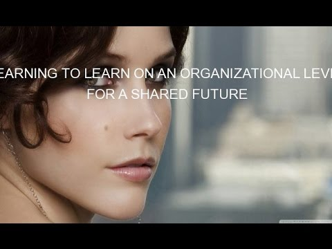 LEARNING TO LEARN ON AN ORGANIZATIONAL LEVEL FOR A SHARED FUTURE