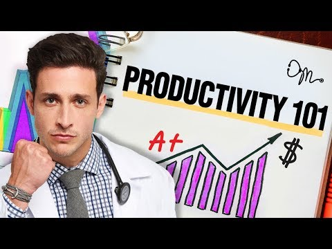 Productivity 101: Tips On How To Be Massively Productive   Doctor Mike