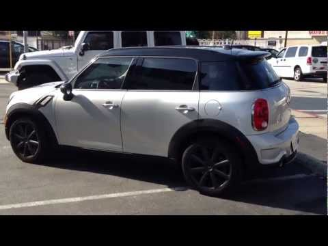 How To prevent SKIN CANCER! 2012 Mini Cooper Countryman Window Tint UV PROTECTION!