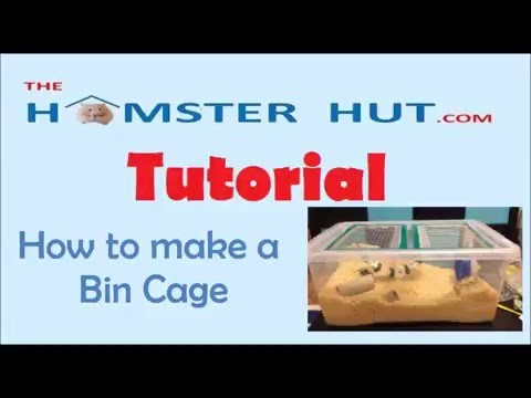 How to make a Bin Cage Tutorial